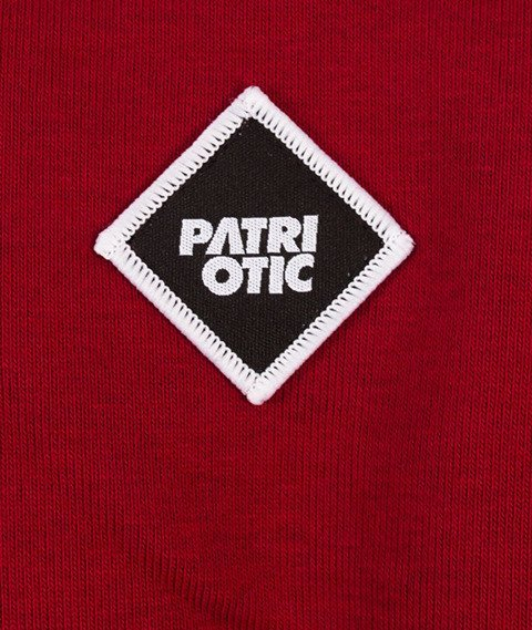 Patriotic-Futura Mini BKL Bluza Bordo
