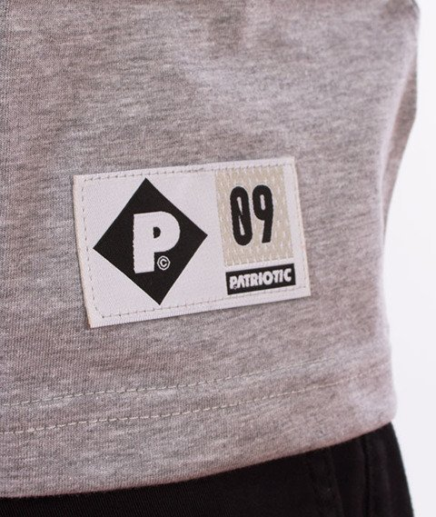 Patriotic-Futura Shade Cut T-shirt Melanż/Granat