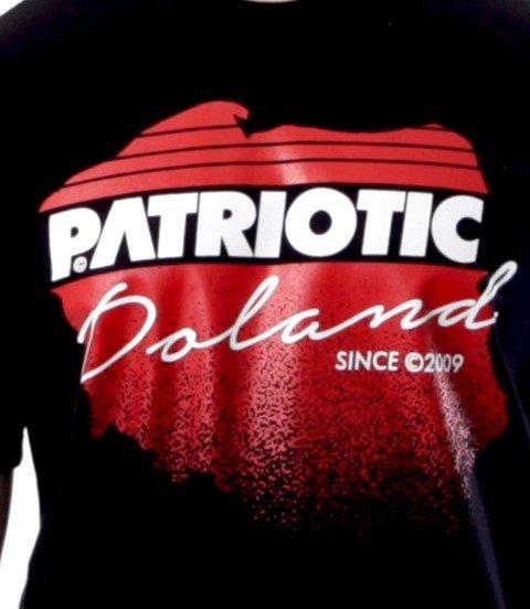 Patriotic-Future Map T-shirt Czarny