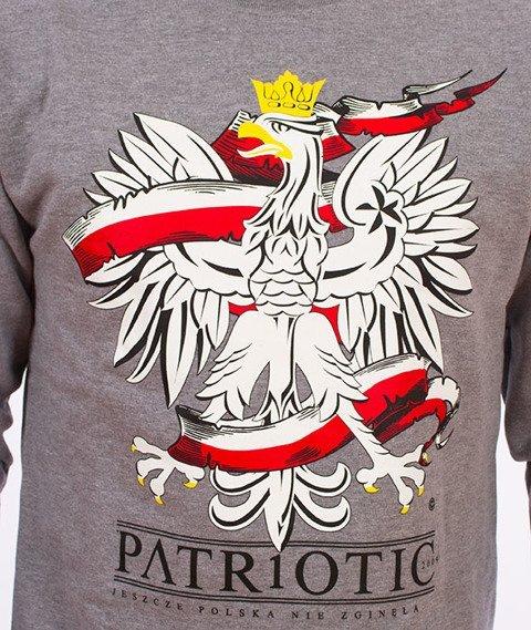 Patriotic-Godło 2 Bluza Szara