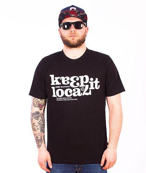Patriotic-Keep It T-shirt Czarny