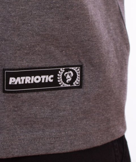 Patriotic-Laur Mini T-shirt Szary