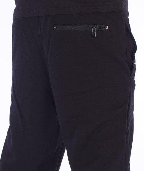 Patriotic-Laur Spodnie Dresowe Czarny