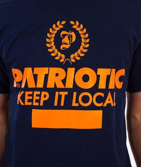 Patriotic-Laur T-shirt Granatowy