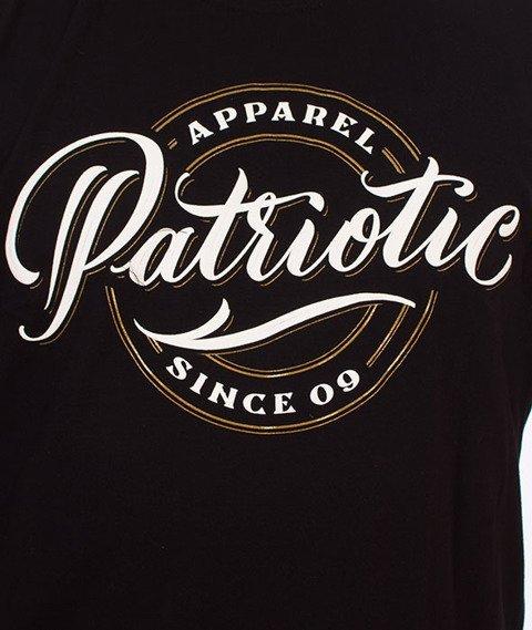 Patriotic-Pat Since T-shirt Czarny