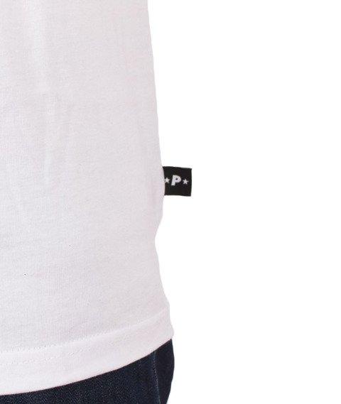 Patriotic-PtRtC Fonts T-Shirt Biały