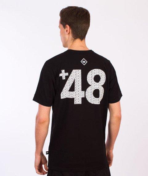 Patriotic-PtRtC Fonts T-Shirt Czarny