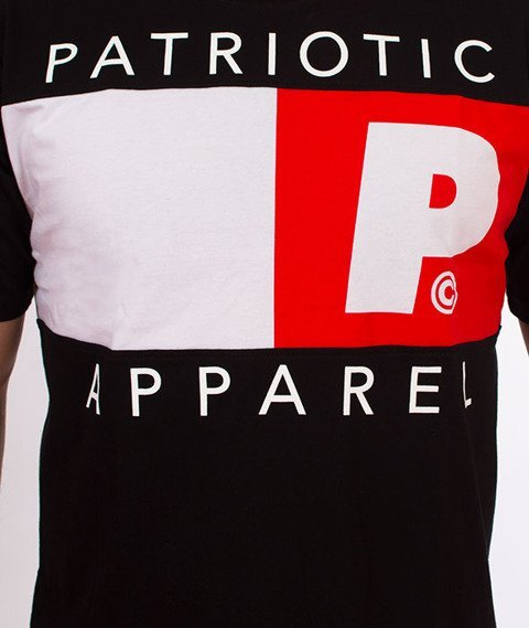 Patriotic-Rab Hill T-shirt Czarny