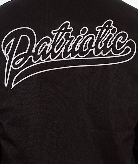 Patriotic-Shield Athletic Hoody Kurtka Zimowa Czarna