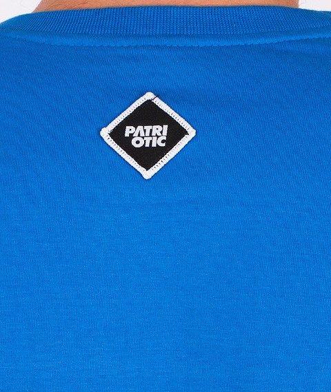 Patriotic-Shoulder T-Shirt Niebieski/Biały