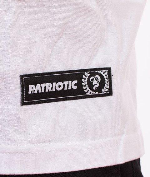 Patriotic-Steel T-shirt Biały