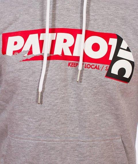 Patriotic-Sticker Bluza Kaptur Melanż