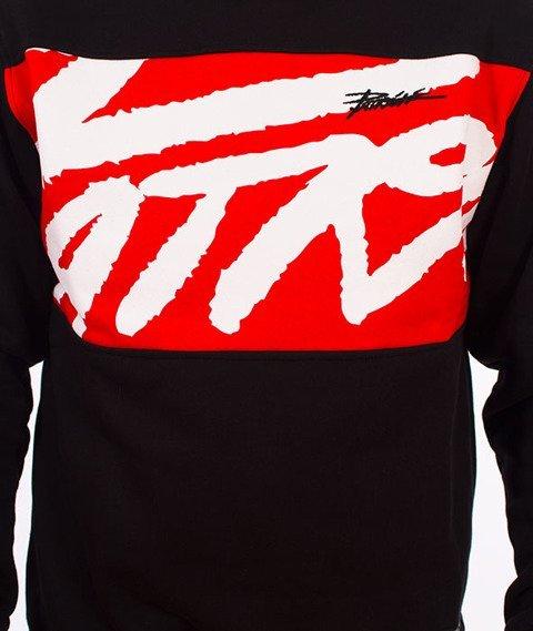 Patriotic-Tag Box Bluza Czarna/Czerwona