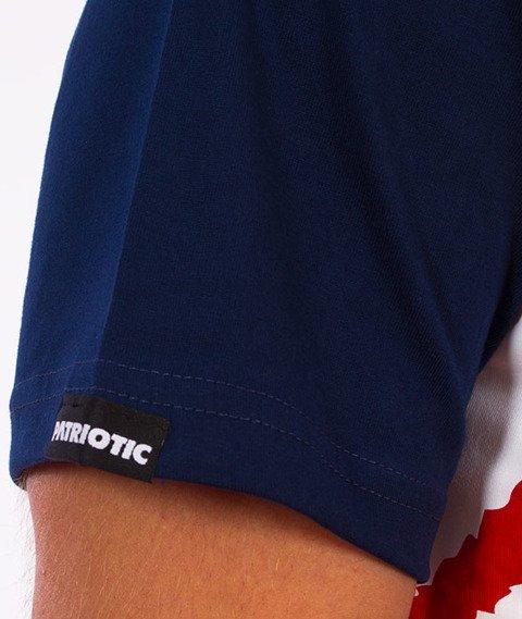 Patriotic-Tag Box T-shirt Granatowy/Czerwony