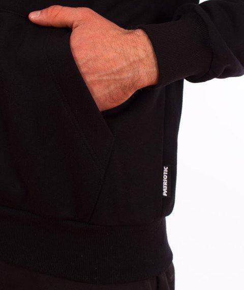 Patriotic-Tag Mini Bluza Kaptur Czarny