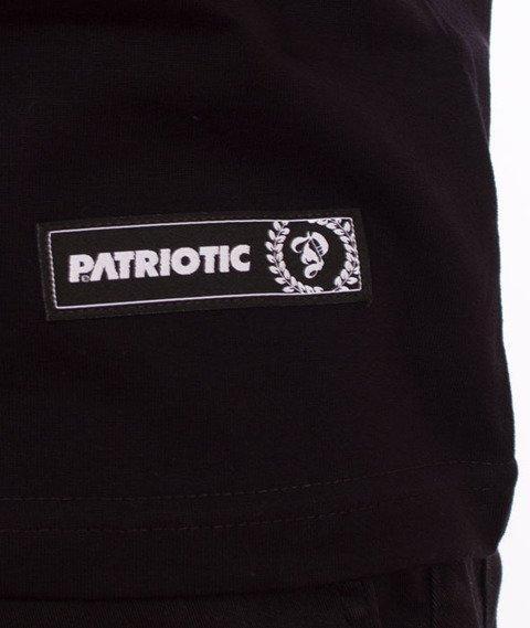 Patriotic-Zig Zag T-shirt Czarny