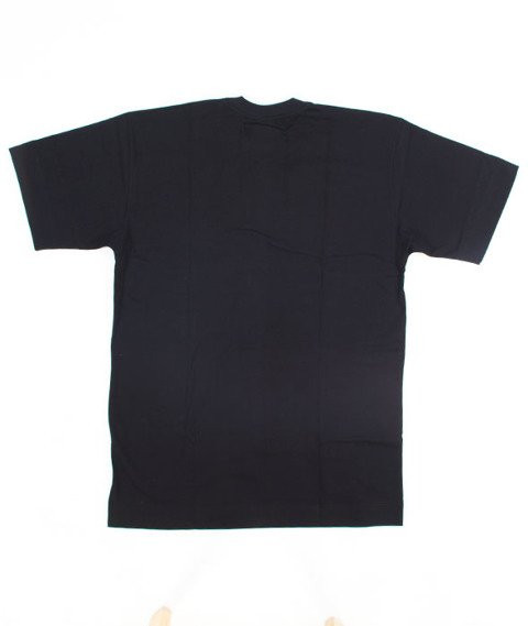 Pihszou-Nic O Nas Bez Nas T-shirt Czarny