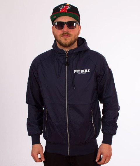 Pit Bull West Coast-Athletic 7 Jacket Kurtka Dark Navy
