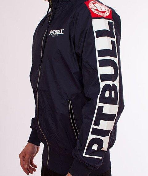 Pit Bull West Coast-Athletic 8 Jacket Kurtka Dark Navy
