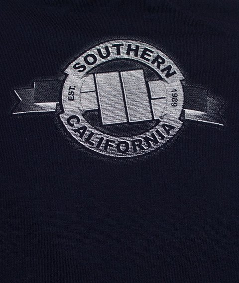 Pit Bull West Coast-Banner T-Shirt Dark Navy