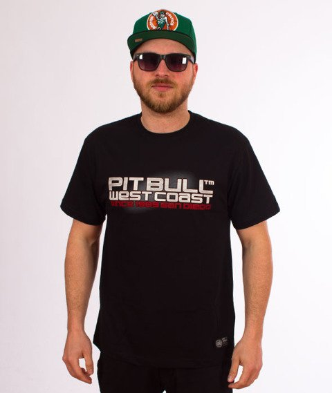 Pit Bull West Coast-Eighty Nine T-Shirt Czarny