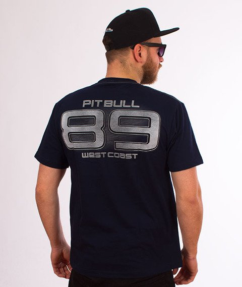 Pit Bull West Coast-Eighty Nine T-Shirt Granatowy