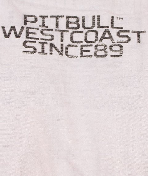 Pit Bull West Coast-Rating Plate T-Shirt White