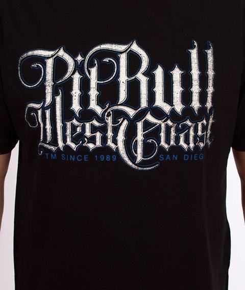 Pit Bull West Coast-Skull Dog 18 T-Shirt Czarny