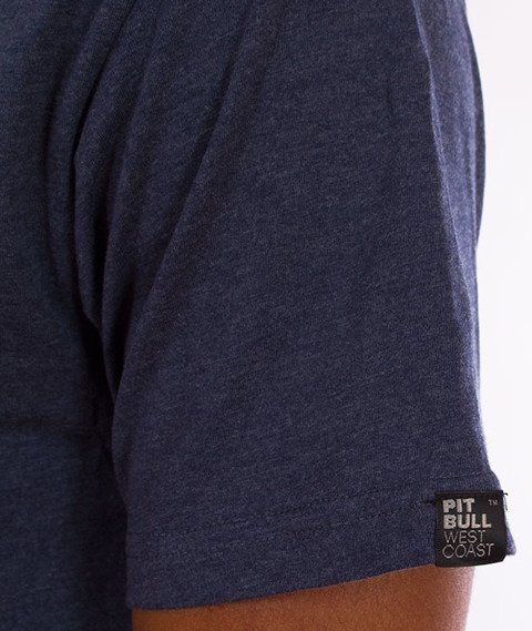 Pit Bull West Coast-Small Logo 18 T-Shirt Navy
