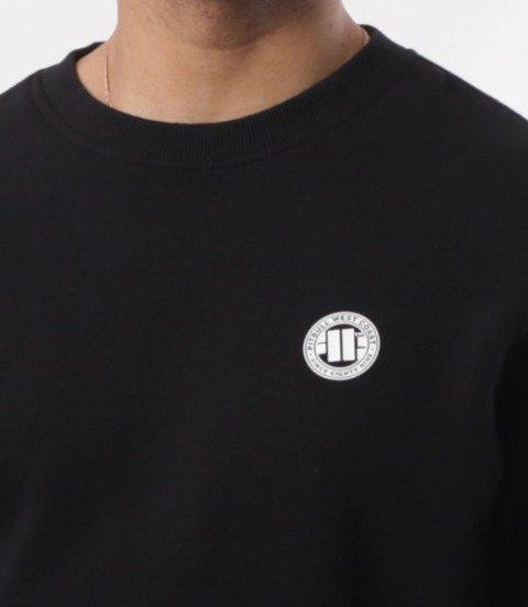 Pit Bull West Coast-Small Logo Crewneck Bluza Black