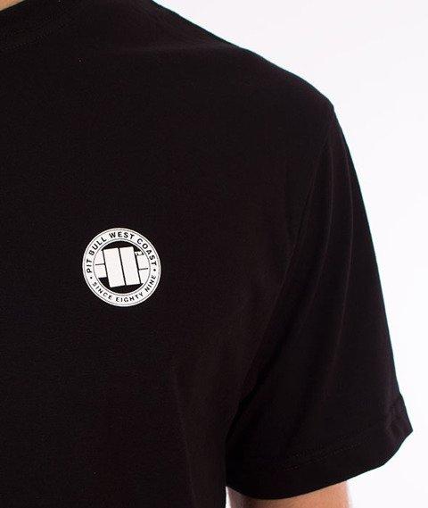 Pit Bull West Coast-Small Logo T-Shirt Czarny