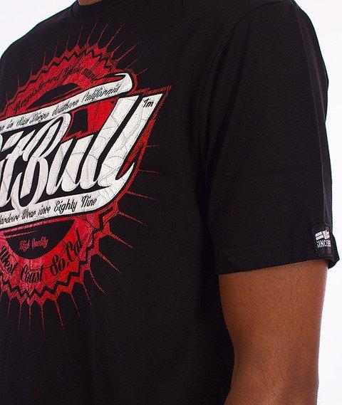 Pit Bull West Coast-Stamp T-Shirt Czarny