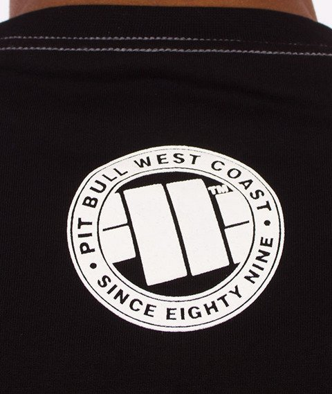 Pit Bull West Coast-Steel Logo T-Shirt Czarny
