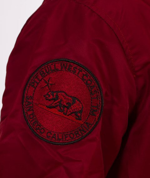 Pit Bull West Coast-Summer Jacket Bloch Kurtka Burgundy