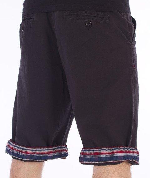 Pit Bull West Coast-Vintage Spodnie Krótkie Chino Czarne