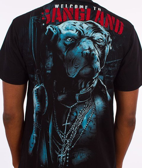 Pit Bull West Coast-Welcome To Gangland T-Shirt Czarny
