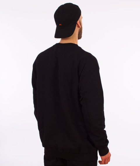 Pogo-Honda Crewneck Bluza Czarna