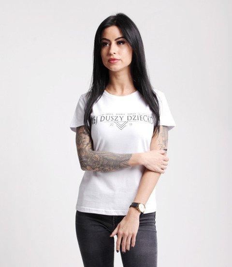 Polska Wersja HINOL MDD T-Shirt Damski Biały