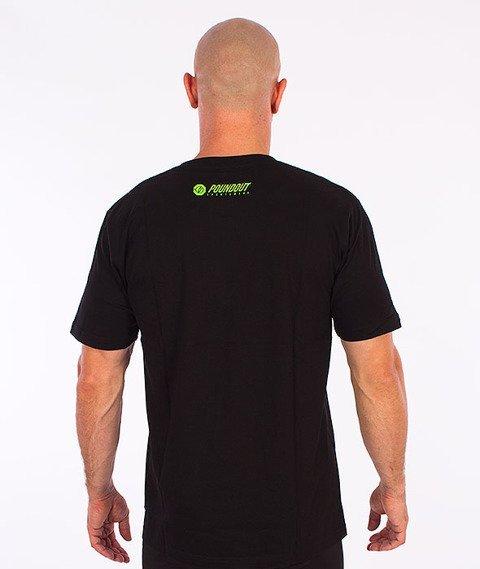 Poundout-Athletic T-Shirt Czarny