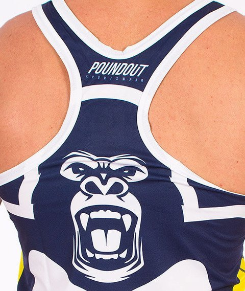 Poundout-Gorilla Tank Top Multikolor