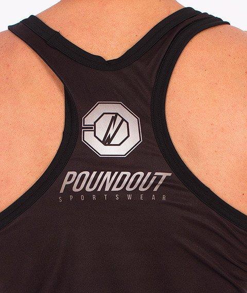 Poundout-Hate Tank Top Czarny