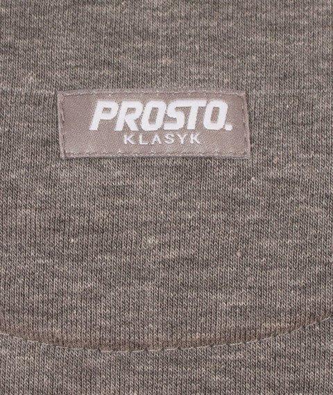 Prosto-Aurora Bluza Damska Szara