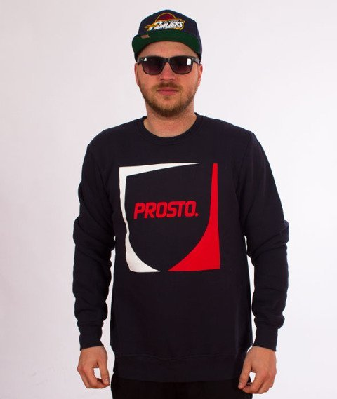 Prosto-Criptic Crewneck Bluza Night Blue