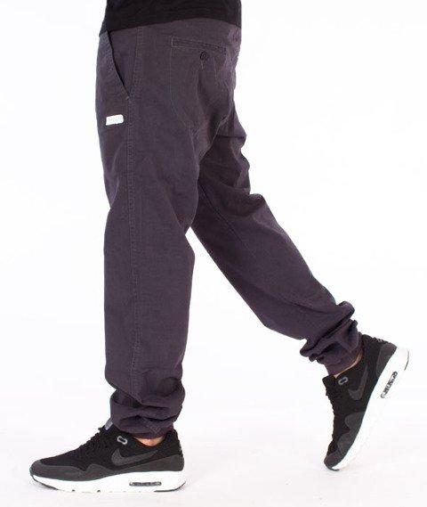 Prosto-Jogger Coste Spodnie Szare