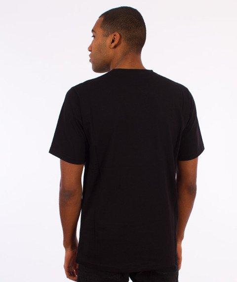Prosto-Permanently Front T-Shirt Czarny