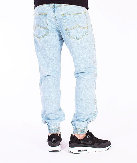Prosto-Regular Jogger Jeans Light Blue