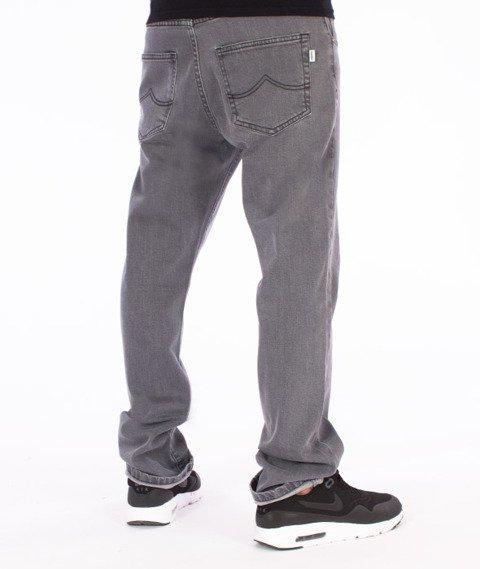 Prosto-Slavic Regular Spodnie Jeans Szare