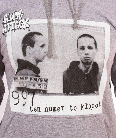 RPS KLASYKA-997 Hoodie Bluza Z Kapturem Szara