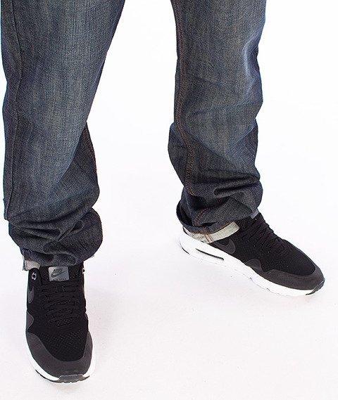 RocaWear-Dark Blue Relaxed Fit Spodnie Jeans R00J9911L 856