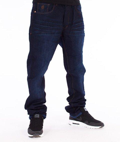 RocaWear-Dark Night Blue Relaxed Fit Spodnie Jeans R00J9911L 858
